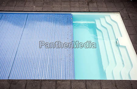 swimming pool cover detail for protection