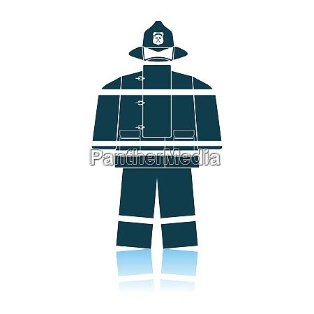 fire service uniform icon