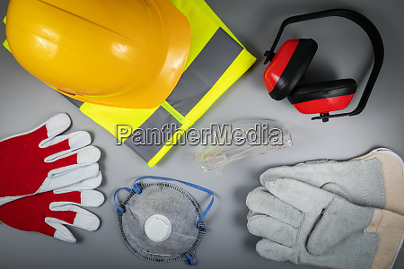 work safety items of construction industry