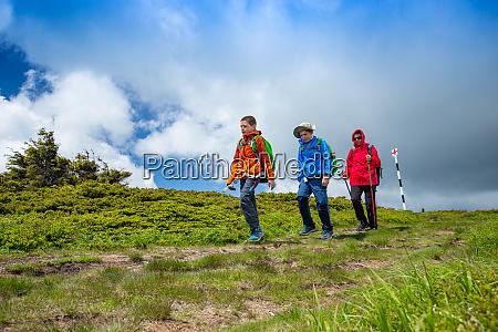 trekking day