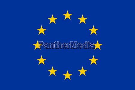 high res flag of the european