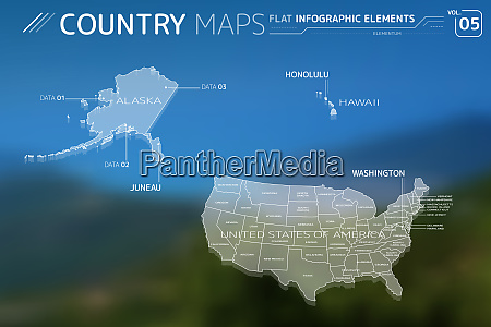 united states of america alaska and