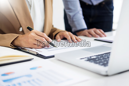administrator business man financial inspector and