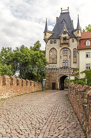 the middle castle gate of albrechtsburg