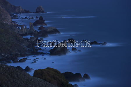 point reyes national seashore coastline an
