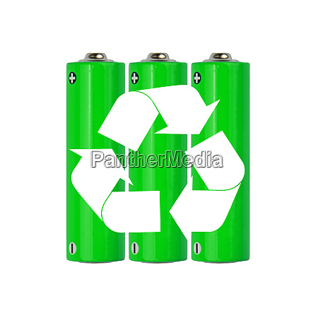 green alkaline aa batteries with recycling