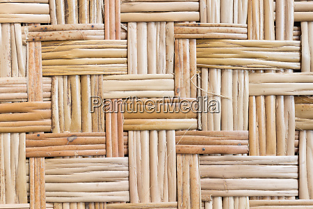 bamboo weave texture or bamboo weave