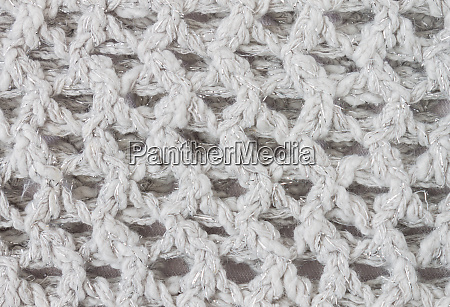 white knitting texture or knitted texture