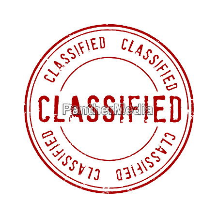 classified red seal restrict document security