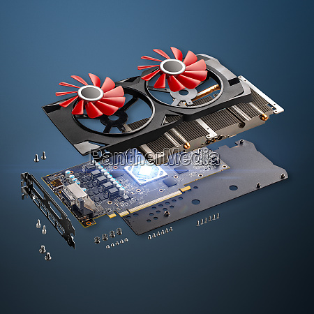 computer graphic card