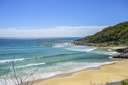 beach at noosa heads sunshine coast