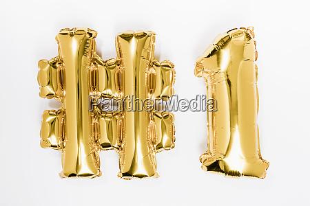 golden 1 balloons