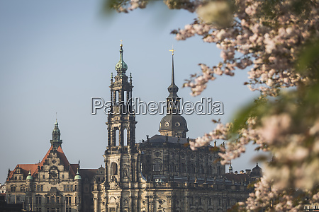 germany saxony dresden dresden cathedral and