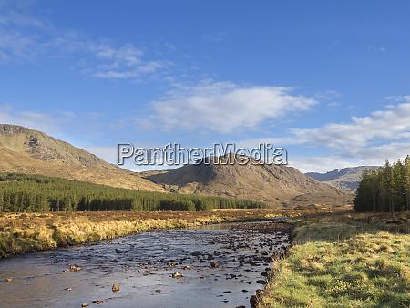 great britain scotland northwest highlands river