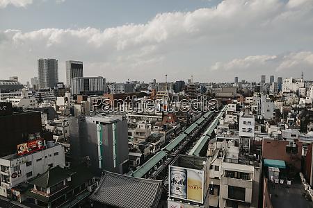 japan tokyo asakusa cityscape