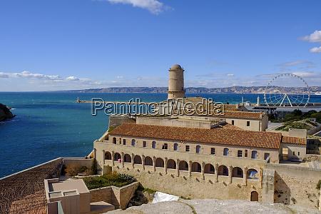 france marseille old harbour fort saint