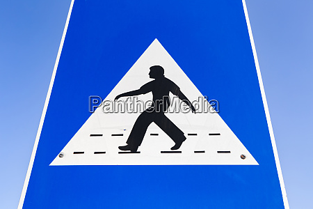 sultanate of oman muscat pedestrian crossing