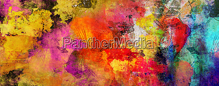 abstract paint textures background banner