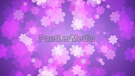 soft purple floral background flowers spreading