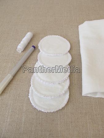 self made self sewn reusable washable