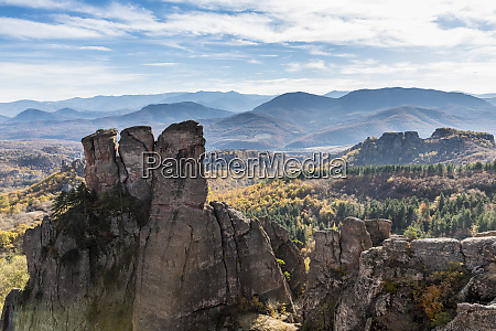 kaleto rock fortress view over the