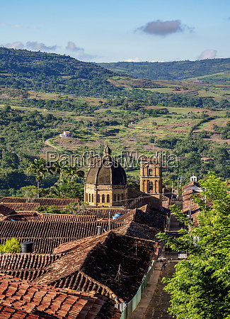 view towards la inmaculada concepcion cathedral