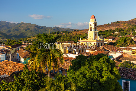 view of bell tower and trinidad