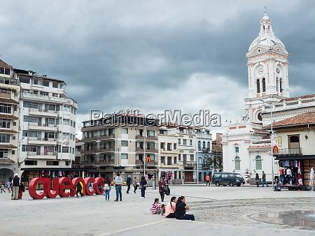 plaza san francisco cuenca unesco world