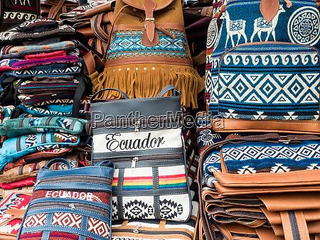 tourist goods for sale craft market