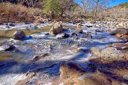 frozen creek oak creek in sedona