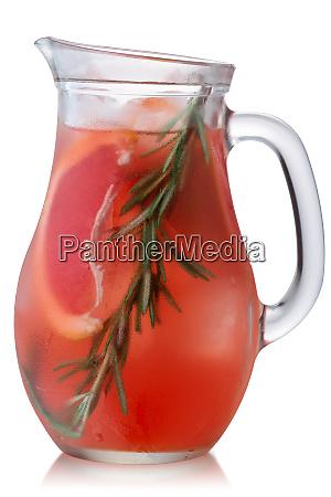 rosemary grapefruit lemonade jug paths