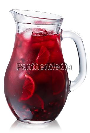 iced pomegranate lemonade jug paths