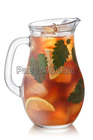 iced catnip lemon tea jug paths