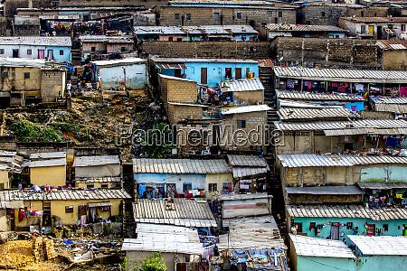 slums in abidjan ivory coast west