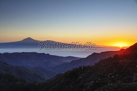 garajonay national park and tenerife in