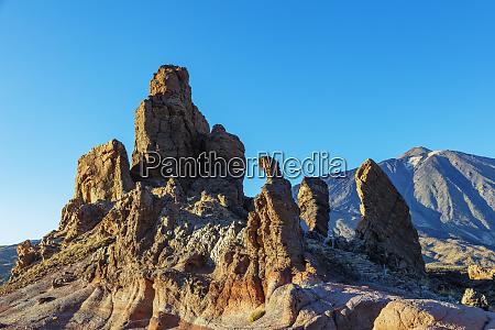los roques pico del teide 3718m
