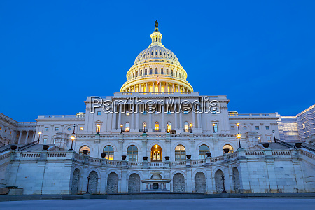 view of the united states capitol