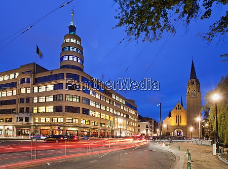 place flagey brussels belgium europe