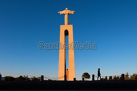 cristo rei lisbon portugal europe