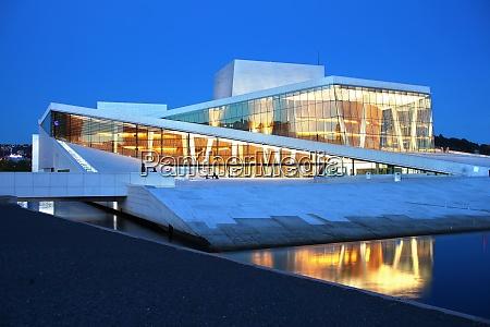 oslos opera house oslo norway scandinavia