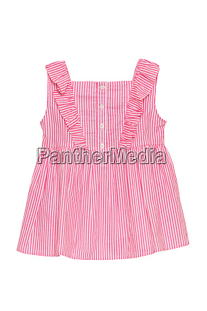 summer dress isolated closeup of a