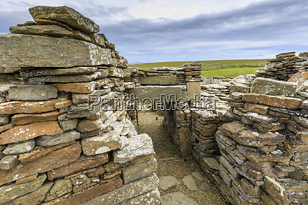 broch of gurness interior iron age