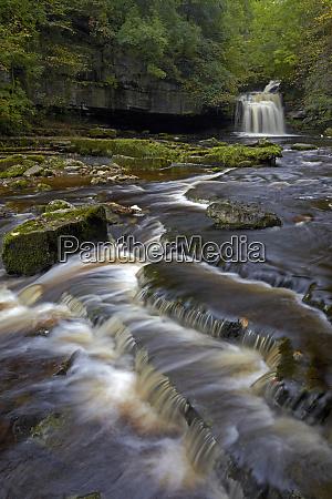 cauldron falls west burton north yorkshire