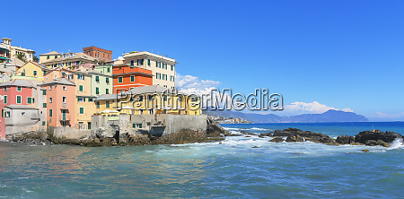 the old fishing village of boccadasse