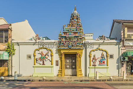 sri mahamariamman temple in little india