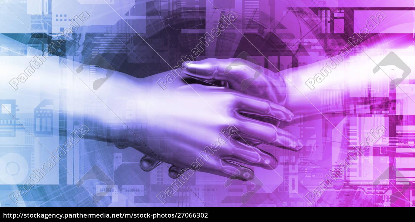 business, handshake - 27066302