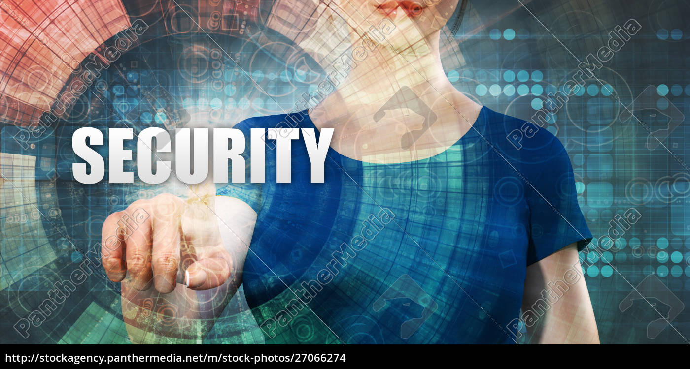 woman, accessing, security - 27066274