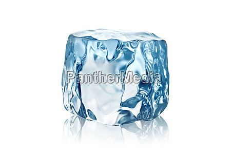 ice cube isolated