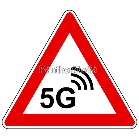 5g wireless and attention sign