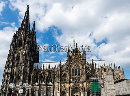 towers of the cologne cathedral